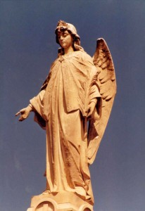 Melbourne Cemetery Angel